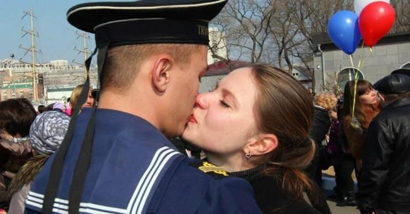 Картинки встреча с моряком