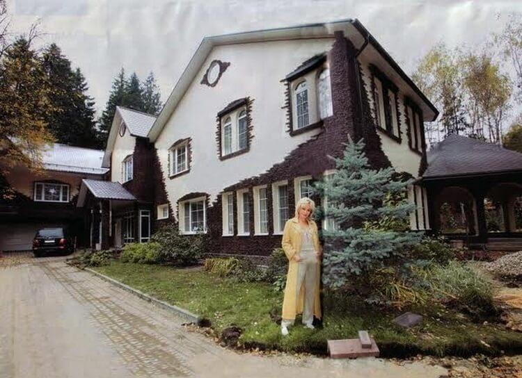 ирина аллегрова дом в подмосковье фото