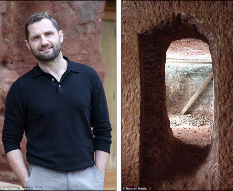 Он купил пещеру превратил ее в чудесный дом