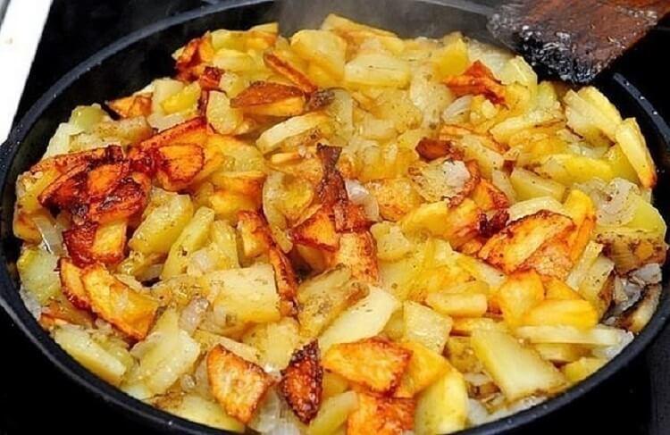 Жарим картошку правильно: 6 правил!