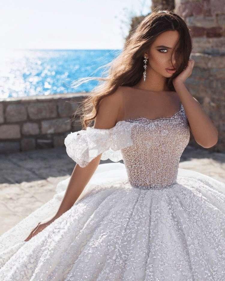 Картинки очень красивые свадебные платья